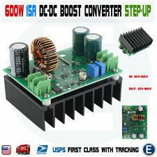 DC-DC 600W 10-60V to 12-80V Boost Converter Step-up Notebook Power Supply Module