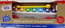Fisher-Price FP Pull-A-Tune XYLOPHONE Musical Pull Toy Preschool Music NEW NIB