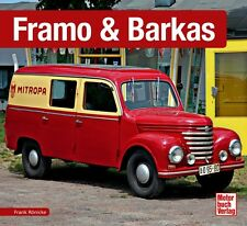 Framo & Barkas Schrader Type Engine Models Chronicle Book Book Advertising Brochure