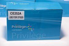 Toner COMPATIBLE type HP CE252A YELLOW pr CP3525 dn / n / x & CM3530 & CM3530fs