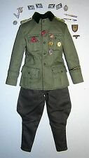 DID 3R 1 / 6A SCALA WW2 German Officer's uniforme-SEPP Dietrich