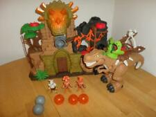 Imaginext Dinosaur Fortress Complete Lava Balls Dino Gift Package Lot