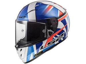 LS2 Integral Helmet FF323 Arrow R Evo John Mcphee Blue-White Motorcycle From