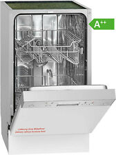 Bomann GSPE 889 Einbau-Geschirrspüler / EEK: A++ / 9MGD / Spülmaschine / 45cm