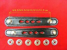 2 Accordion bellows straps length 9,5 cm / 2 Stück für Balgzughalter 9,5 cm NEW!
