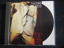 CD  TALKING HEADS  Stop making Sense  Made in Germany  No Barcode  Neuwertig