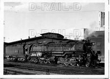 8EE787 RP 1952 UNION PACIFIC RAILROAD 4-6-6-4 LOCO #3825 POCATELLO IDAHO