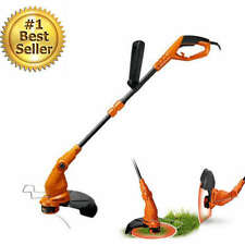 """15"""" Electric Grass Trimmer Cutter Edge Corded String Weed For Lawn Yard 5.5Amp"""
