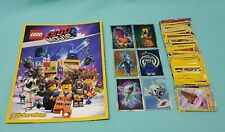 The Lego® Movie Sticker 2 komplett Set alle 182 Sticker + Sammelalbum