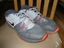 Nike Training Men's sneakers gray mesh sz 10