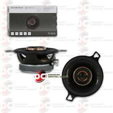 INFINITY REFERENCE 3.5 INCH CAR AUDIO 2-WAY COAXIAL CAR SPEAKERS PAIR REF3032cfx