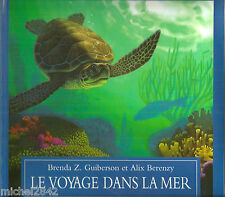 Le voyage dans la mer Dessins Alix Berenzy L'école des loisirs Tortue de mer