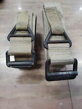 Spec-Ops Tan Riggers Belt, and unbranded belt lot medium khaki tan