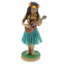 Namele Ukulele Girl KC Hawaii Tiki Moving Dashboard Hula Doll 1.75 x 4.5