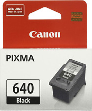 New Genuine Canon PG-640 Ink Cartridge PIXMA MG2160 MG3560 MX376