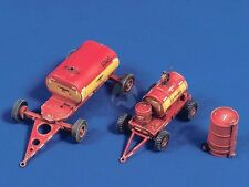 Verlinden 1/48 US Navy Carrier / Airfield Fuel and Oil Carts w/Drum Trolley 323