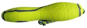 Elongated Tennis ball dummy dog toy training kong standard