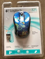 Logitech M325 Wireless Optical Mouse - Blue Sky - Brand New And Sealed!