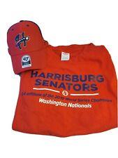 New Harrisburg Senators Hat and T-shirt