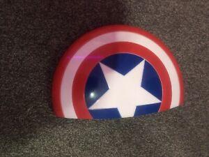 3D light FX 49465 Marvel Avengers Captain America 3D Wall Deco Light