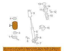 AUDI OEM 12-17 A7 Quattro Rear Suspension-Coil Spring 8K0511115HA