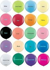 """1(one) Qualatex 36"""" Giant Large Latex Balloon Pick Your Colors weddings birthday"""