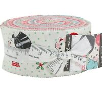 SWEET CHRISTMAS Moda Jelly Roll Quilting sewing Fabric Urban Chiks FREE SHIPPING