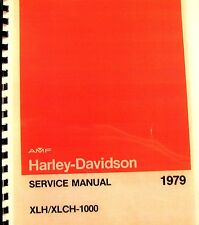 1979  AMF- Harley-Davidson Service Manual   XLH/XLCH-1000  # 99484-79
