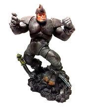 "Marvel Legends Comics Spiderman classic RHINO 6"" Villain figure & base THE BEST"