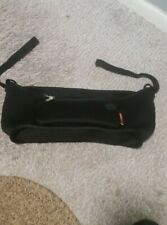 Skip*Hop Grab & Go Stroller Organizer w/ cup holders & detachable wristlet;Black