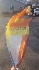 Shock Asymmetrical Spinnaker Sail Luff 29' Leech 39'9 Foot 30'4