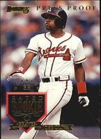 1995 Donruss Press Proofs Baseball Card Pick