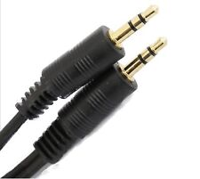 0.5m Short 3.5mm Jack to Jack Aux Cable STEREO Audio Auxiliary Lead PC Car