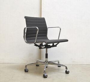 VITRA EA117 Alu Chair BÜRO Stuhl GRAU Grey // Eames Drehstuhl HOPSAK