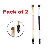 EYEBROW Brush Cosmetics Angled Brow Brush Dual-ended Duo Angled Brow Eyeliner