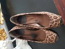 Mustang zapatos leopardo 38 Pumps scarpi chaussures shoes Fashionista chic