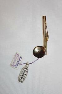 Vintage Gorman 1/20 12K GF Musical Note Ladies Pin Brooch Very Nice with Tags