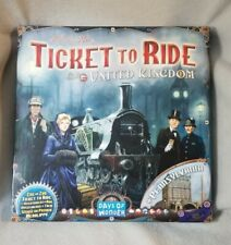 Ticket To Ride United Kingdom + Pennsylvania Board Game Expansion Vol. 5 UK Map