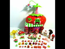 50+ Strawberry Shortcake Lot Dolls/Clothes/Food/Furniture/Accessories Berry Cafe