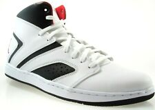 sports shoes 79b99 6c480 NIKE JORDAN FLIGHT LEGEND MEN S WHITE RED BLACK BASKETBALL SHOES AA2526-112