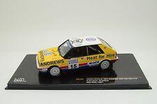 LANCIA DELTA HF 4WD #15 BROOKES WILSON RAC RALLY 1987 IXO RAC102 1/43 ANDREWS
