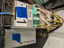 Bitmain AntMiner S9 14 Th Bitcoin Miner and Apw3+ Psu Tested & Working (10)