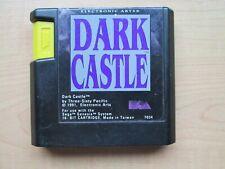SEGA GENESIS - Dark Castle  - NO Manual INCLUDED