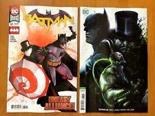 Batman 60 2018 Janin Main Cover + Francesco Mattina Variant DC Comics NM+