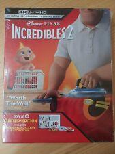New listing Disney Pixar Incredibles 2 4K Uhd Blu-Ray Digital Code Limited Edition New
