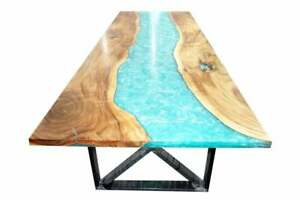 "54"" x 30"" Epoxy Resin Coffee Table Top / epoxy Center Home Furniture"