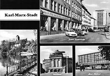 AK groß, Karl-Marx-Stadt, vier Abb., 1967