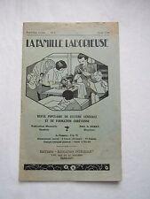 REVUE : LA FAMILLE LABORIEUSE, 1934