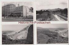 (F4404+) 12x Orig. Foto Damaskus 1950er, Bau Hotels, Messe DDR WMW