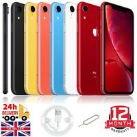 Apple iPhone XR 64GB 128GB 256GB Unlocked Sim Free Smartphone Various Colours